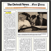 The Detroit News and Free Press